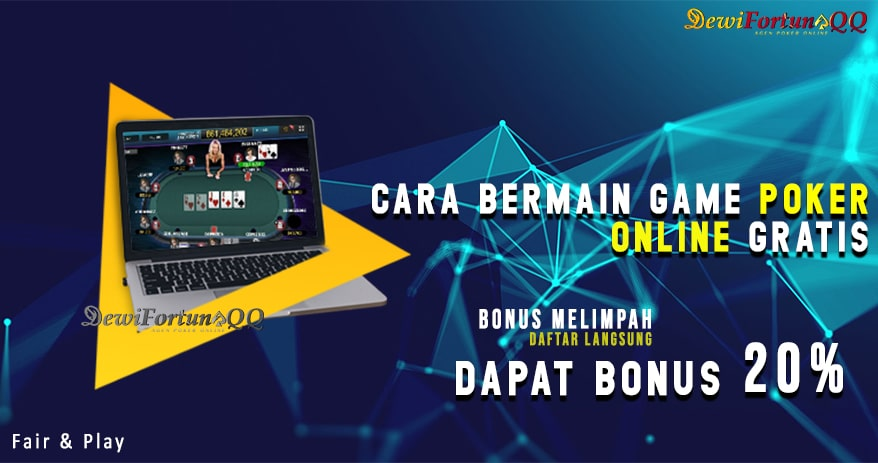 Cara Main Game Poker Online Gratis